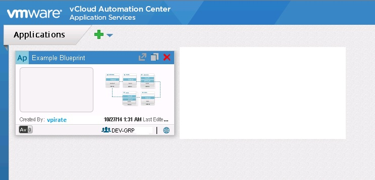 Importing application blueprints into vcac application services malvernweather Image collections